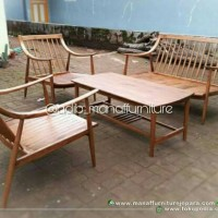 Kursi tamu, Meja tamu, Coffee table, Kursi Retro Mebel Jepara