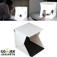 Jual Photo Studio Mini dengan Lampu LED | Photography Light Tent Murah