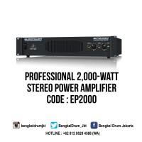 Behringer Portable Amplifiers EUROPOWER EP2000