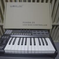 Worlde Panda 25 keyboard controller