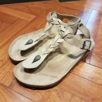 Sandal Birkenstock Coklat Asli