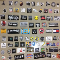 sticker mini pack thrasher supreme dickies and many more