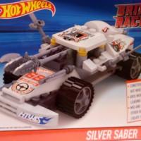 Emco Hot Wheels Brix Racer Silver Saber 8915