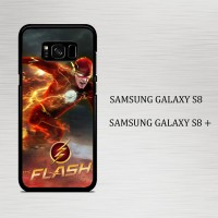 Casing Hp Samsung Galaxy S8 & S8 Plus The Flash X4146