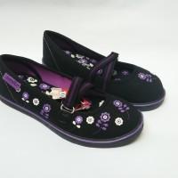 Sepatu Flat Anak Perempuan Tk Sd Original Santica Jasmine No 27-30