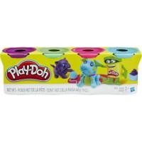 Jual Play-Doh 4-Pack of Bold Colors Murah