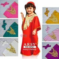 Kaftan Arsy/Kaftan Anak Premium/ Baju Kaftan Anak Size 3-6 y