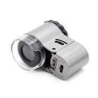 Jual Mikroskop Batu Akik Emas Perhiasan Portable Mini Lensa 50x Zoom Duster Murah