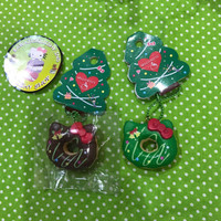 Jual Squishy Licensed Hello Kitty Mini Christmast Donut Original Murah