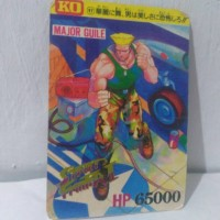 Jual Kartu Trading Card Game Tcg Street Fighter Ii Japan Major