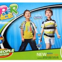 Mainan Mic The Super Voice Double Biru Link MP3 DMT-0124