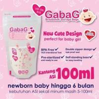 Jual Kantong ASI Gabag 100 ml Pink (30 pcs) Murah