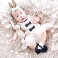 Aksesoris Rambut - Headband Anak Bayi - Cokelat