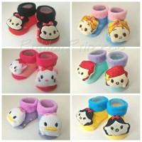 Jual 3D Baby Socks - Kaos Kaki Bayi 3D Disney Tsum Girl Murah