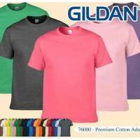 Jual Kaos Polos GILDAN 76000 Premium Cotton Murah