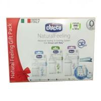 Jual Chicco Paket Natural feeling Bottle 3Pcs/Paket Botol susu chicco isi3 Murah