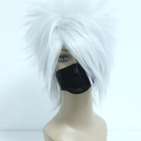 Wig MCoser Silver Grey 35 cm 205A - Naruto - Hatake Kakashi