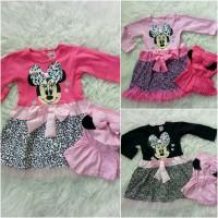 Jual Gamis minnie leopard baju bayi anak Murah