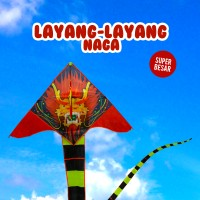 Layangan Naga - Bahan Parasut Anti Air - Dragon Kite - Layang Layang