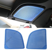 Harga 2x alloy blue car roof stereo speaker mesh protective cover for jeep | Pembandingharga.com