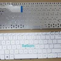 Keyboard laptop notebook Samsung NP270 NP275 putih