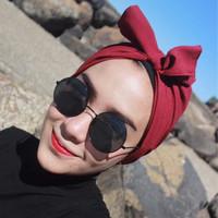 Jual hijab muslim / turban pita / turban bow / hijab Murah