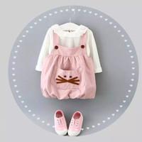 Jual Dress bayi | overall dress bayi (kitty balloon dress) Murah