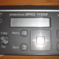 Tombol printer epson stylus office TX300F