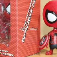 Boneka Spiderman Kepala Goyang, Pajangan Mobil Cosbaby