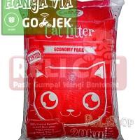 Jual Pasir Kucing - Cat Litter Gumpal Wangi Cubnkit 20kg Murah