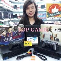 Playstation PS2 Fat Sony Hardisk Eksternal 80GB (Komplit Tinggal Main)