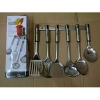 Jual OX-963 Spatula / Sutil anti karat Oxone Kitchen Tools Stainless Steel  Murah
