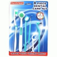 Dental Kit Set Pembersih Karang Gigi Teether Sikat Gigi Cermin Flosser