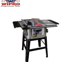 """Table saw Wipro 10"""" mesin potong kayu gergaji meja plus dudukan router"""