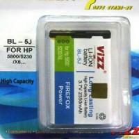 Battery Vizz Nokia BL5J Baterai Batere Batre 5228 5530 5230 5800 C3 X6