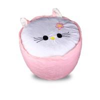 Jual Air Sofa Kursi Balon Tiup Barang Mainan Unik Cute Motif Hello Kitty HK Murah