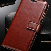 Leather FLIP COVER WALLET Samsung A3 A5 2017 A320 A520 Case Casing HP