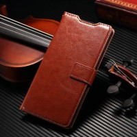 Leather FLIP COVER WALLET Sony Xperia Z3 Mini Z5 Compact Case Casing