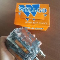 New Pedal Wellgo Hitam Bearing