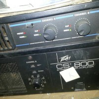 power amplifier peavey cs 800 (ada dua biji)