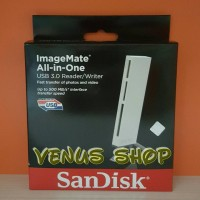 SANDISK CARD READER IMAGEMATE ALL-IN-ONE USB 3.0 ORIGINAL BERGARANSI