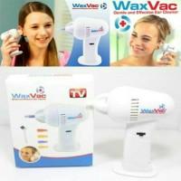 WaxVac / Alat Vacum Pembersih Telinga / Ear Vacum Wax Vac