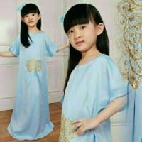 baju muslim anak perempuan Kaftan Arsy