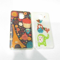 Case Samsung Note 4 soft case owl paris