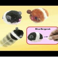 Jual Pet Toys Cute Hamster 8.5cm - Mainan Interaktif Untuk Kucing Murah