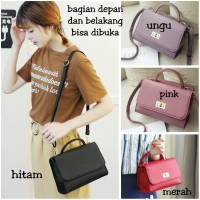 Jual Tas wanita import Lily Bag fashion cewek korea mini handbag Murah