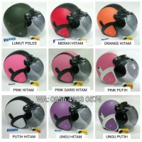 Jual helm retro kaca bogo asli (4) Murah