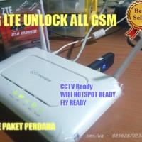 Jual Paket Wifi Router Movistar & Modem LTE 4G ZTE MF831 Speed Kenceng Murah