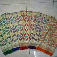 Kain Batik Rangrang Pelangi K62b Bahan Katun Prima Pekalongan