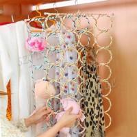 SCARF RACK Hanger Gantung Syal Jilbab Dasi / 28 RING